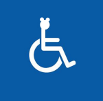 Wheelchair Mickey